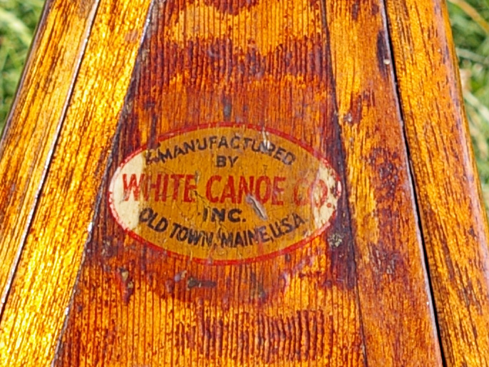 White Canoe Co. decal