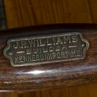 J. R. Williams builder plate